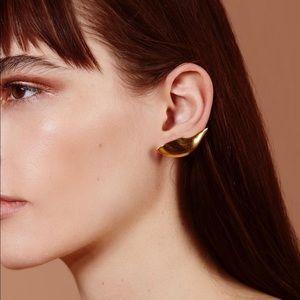Gold Lobe Ear Cuff